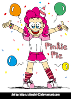 Human Ponies - Pinkie Pie by SHINOBI-03