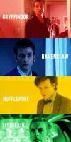 doctor who houses by dottypurrs