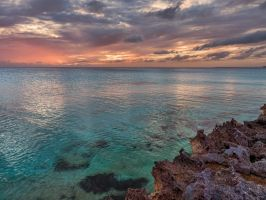 Baja mar sunset by peterpateman