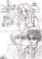 Random HP Trio by Yamatoking