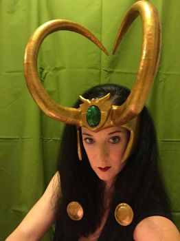 Lady Loki Avengers Academy Headpiece by Thom-Heap