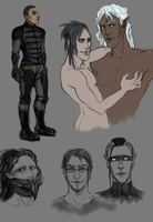 Infected Sketches by Incubo-Infinito