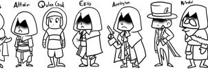 Lots and Lots of Assassins by Kaxen6