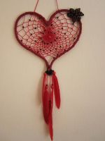 heart dreamcatcher by Ursulaa