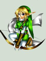 Archer Link-Linart by 3merald- by Feather-Storm