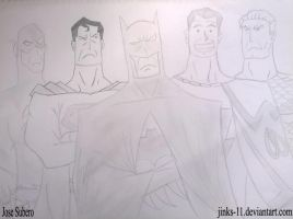Justice League by Jinks-11