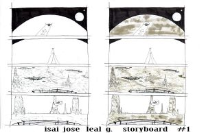 isai leal -story board-1 by joseisai