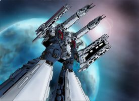 Mobius Chronicle:SDF-1 Macross by zeiram0034