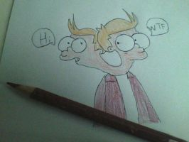Fry...with 2 heads? by TheSyFyFan