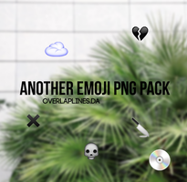 ANOTHER EMOJI PNG PACK by overlaplines