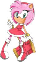 Amy Rose by MagicalPouchOfMagic
