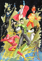 Our JLA by nathyelric