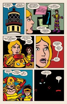 Lady Spectra and Sparky: The Witching Hour pg 13 by JKCarrier