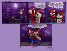 Spiderchibi 37 Peter pan by OrangeBlueCream