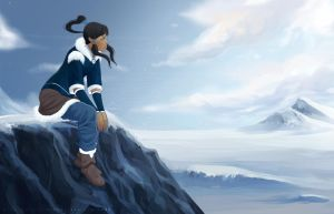 Korra's Homeland by MeTaa