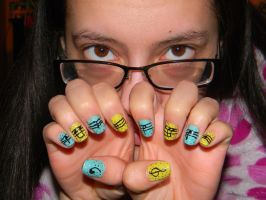 Musical Nails by Celeste707