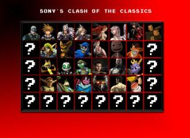Sony's Clash of the Classics by PacDuck