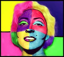 Marilyn Monroe Pop Art by XxXTABSXxX