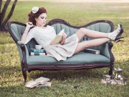 Bibliophile by Queen-Kitty