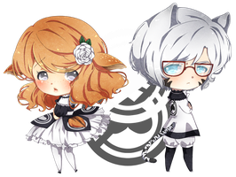 [Soulmatch] White and Black by koto-chii