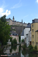 Luxembourg city IV by Moonwolflove