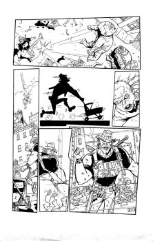 Bob Zombie page 5 inks by Ink-Professor