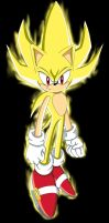 Super Sonic concept with glow by footman