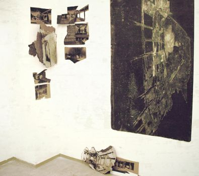 The memory of place - installation by FromTheHood
