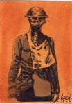 Cult Stuff WWI sketchcard 10 by RobertHack