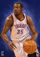 Kevin Durant 2014 MVP by cjcenteno