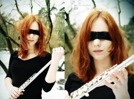 Querflote- the blind. by ladymonroe