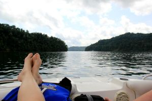 Boating in Tennessee 2 by RiaBunnie