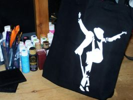 Custom Bag: MJ - For Sale by kustom-kicks