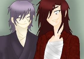 Male OCs up for adoption (Both adopted) by albertxlailaxx