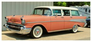 1957 Chevy Station Wagon by TheMan268