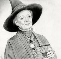 Minerva McGonagall (Harry Potter Drawing) by julesrizz