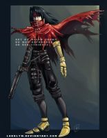 Vincent Valentine by Lokklyn