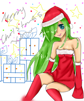 MERRY CHRISTMAS by aluchanRAWR8D