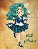 Child Neptune by MoonchildinTheSky