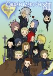 Org XIII Doujinshi cover by knil-maloon