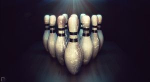 Bowling Pins by djreko