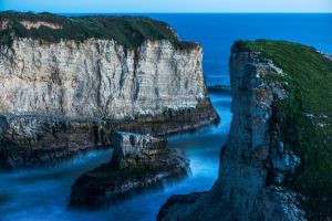 Shark Fin Cove by FeralWhippet