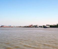 Mississippi River Ferry 4 by cynstock