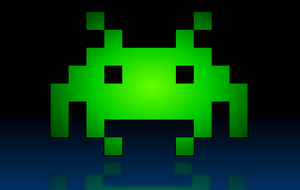 Space Invader 01 by JeffPerryman