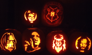 Pumpkin Madness - Hogwarts Style by johwee