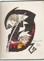 Maka and Soul by SamColwell