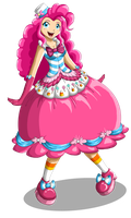 Pinkie Pie: Gala Gown by Chiibe