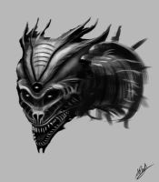 Monster Head by Dinhosaur
