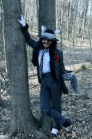 Into the Woods: The Wolf: Good Day Young Lady by ZoraCatone