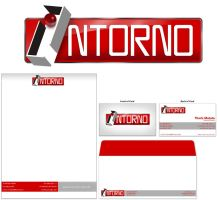 INTORNO, Logo and stationary by Domenicos